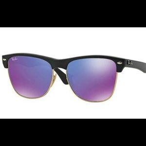 RayBan 4175 oversized Clubmaster sunglasses